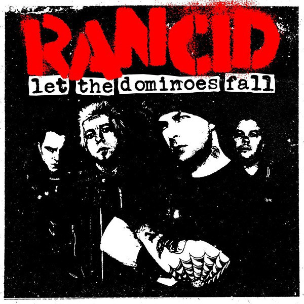RANCID - Let the dominoes fall 2-LP Epitaph UUSI M/M
