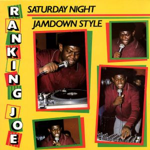 RANKING JOE - Saturday Night Jamdown Style LP Greensleeves Records