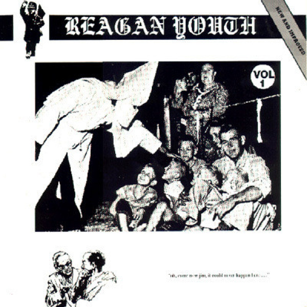 REAGAN YOUTH - Vol 1 - Oh Come Now Jim LP New Red Archives UUSI