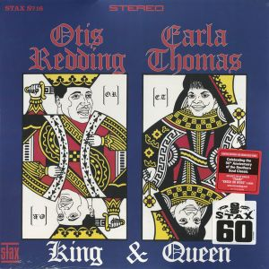 Redding, Otis & Carla Thomas - King & Queen LP  Stax 60