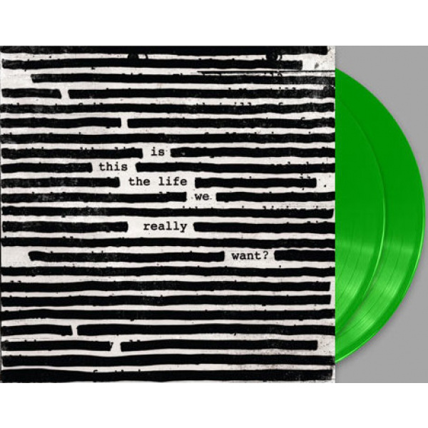 ROGER WATERS - Is This The Life We Really Want 2LP UUSI LTD GREEN VINYLS