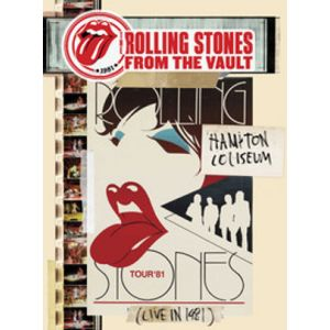 ROLLING STONES - From The Vault: Hampton Coliseum - Live In 1981 DVD+2CD