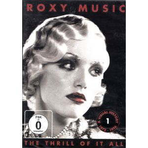 ROXY MUSIC - The Thrill of It All a Visual History 1972-82 DVD