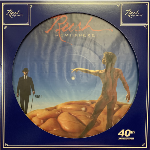 RUSH - Hemispheres LP Limited Edition, Picture Disc RSD 2019 release