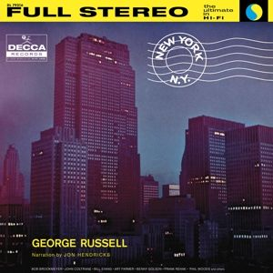 RUSSELL GEORGE - New York, N.Y. LP Verve