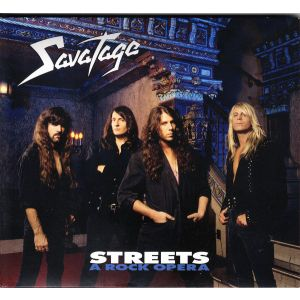 SAVATAGE - Streets (A Rock Opera) CD