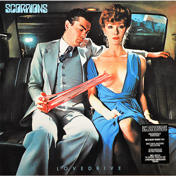 SCORPIONS - Lovedrive LP+CD 50th anniversary deluxe edition