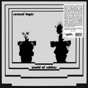 SECOND LAYER ‎– World Of Rubber LP LTD GREY vinyl RSD2020 ITALY