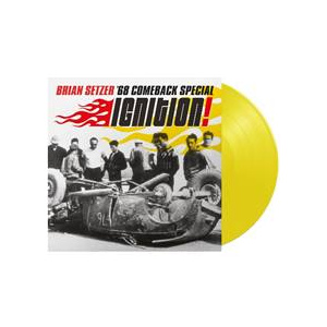 SETZER BRIAN - Ignition LP YELLOW VINYL