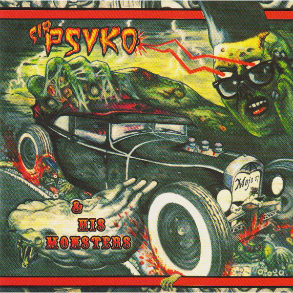 SIR PSYKO & HIS MONSTERS - Zombie Rock LP Crazy Love Records