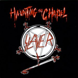 "SLAYER - Haunting The Chapel 12"" EP UUSI Metal Blade BLACK"