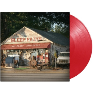 SLEEP EAZYS (JOE BONAMASSA) - Easy To Buy, Hard To Sell LP UUSI LTD RED VINYL