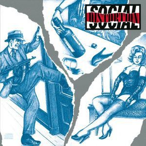 SOCIAL DISTORTION - Social Distortion 180gr LP Music on Vinyl