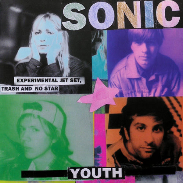 SONIC YOUTH - Experimental Jet Set LP Universal UUSI