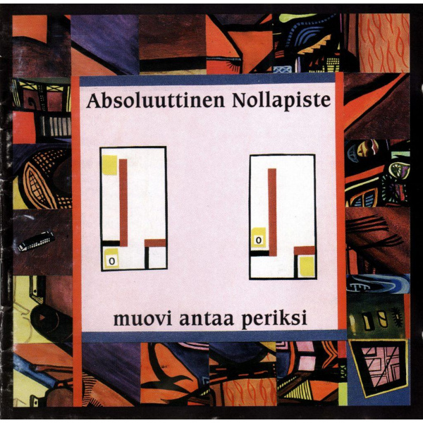 ABSOLUUTTINEN NOLLAPISTE - Muovi antaa periksi LP BLACK VINYL Svart Records