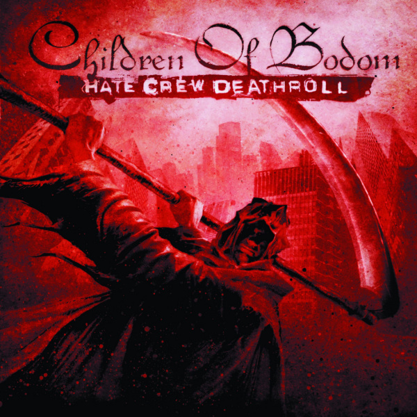 CHILDREN OF BODOM - Hate crew deathroll 2LP RED VINYL Svart Records