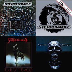 STEPPENWOLF - Slow Flux / Hour of the Wolf / Skullduggery 2CD
