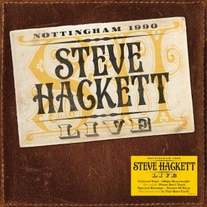STEVE HACKETT - Live LP UUSI Demon Music LTD BROWN Vinyl