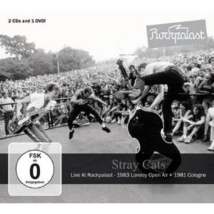 STRAY CATS - Live At Rockpalast 2CD + DVD