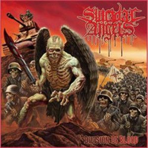 SUICIDAL ANGELS - Division of blood CD+DVD
