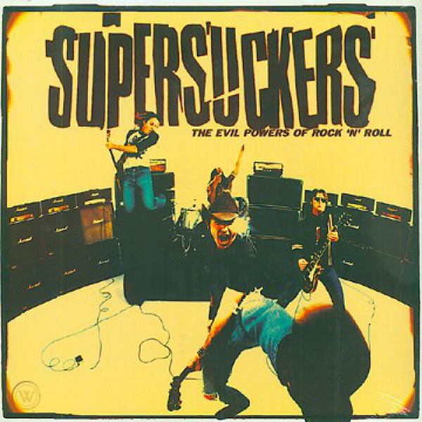 SUPERSUCKERS - Evil Powers of Rock 'N' Roll LP Reptilian