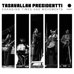 TASAVALLAN PRESIDENTTI - Changing Times And Movements - Live in Finland And Sweden 1970-1971 2LP GOLD VINYL Svart Records