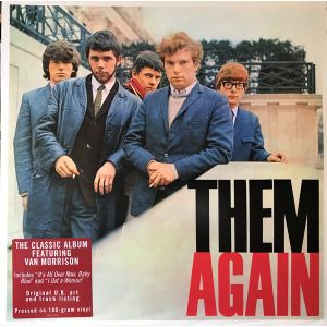 THEM - Them Again LP UUSI Sony