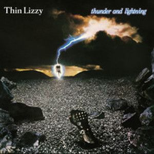 THIN LIZZY - Thunder and lightning CD