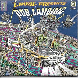 THOMPSON LINVAL  - Dub Landing Vol.1 2LP  Greensleeves Records