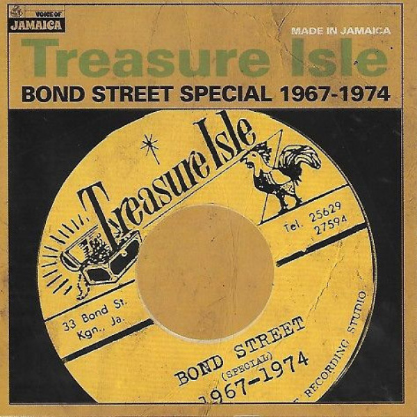 V/A - Treasure Isle Bond Street Special 1967-1974 LP Voice Of Jamaica ‎