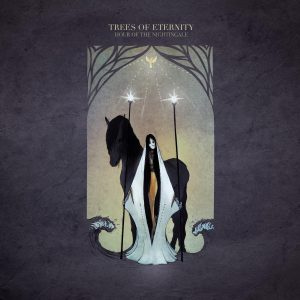 TREES OF ETERNITY - Hour Of The Nightingale 2LP Limited repress of 500 copies on golden vinyl
