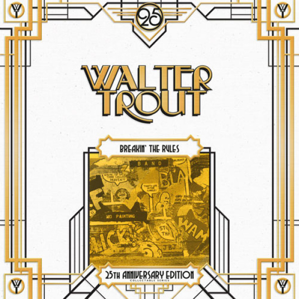 WALTER TROUT - Breakin' The Rules 2LP Provogue UUSI