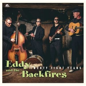 EDDY & THE BACKFIRES - Twentyfight Year CD