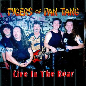 TYGERS OF PAN TANG - Live in the roar CD