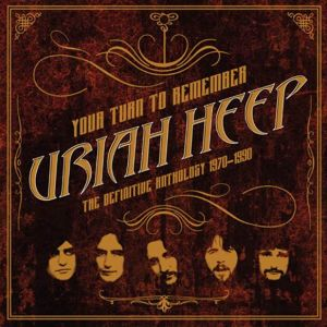 URIAH HEEP - Your Turn to Remember: The Definitive Anthology 1970-1990 2CD