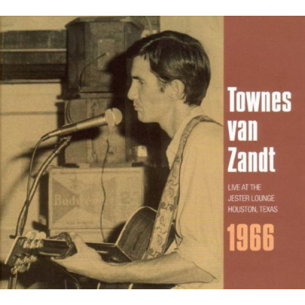 VAN ZANDT TOWNES - Live at the jester lounge CD