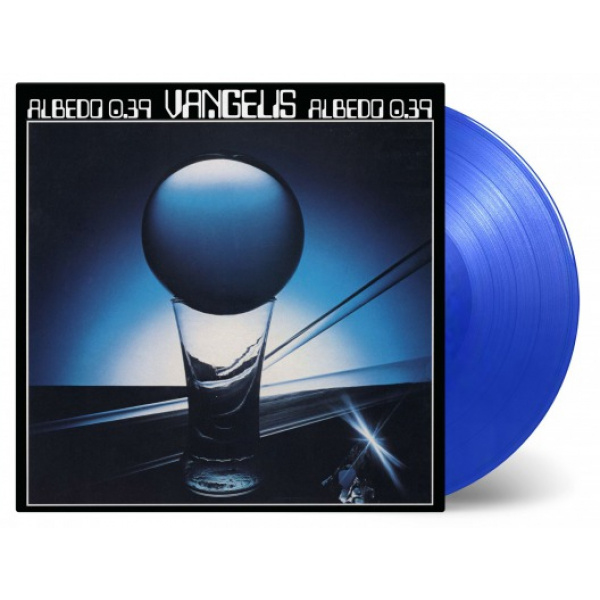 VANGELIS - Albedo 0.39 LP UUSI Music On Vinyl LTD 1500 BLUE