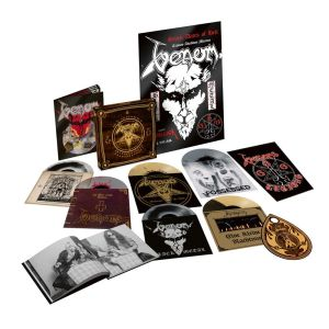 "VENOM - In Nomine Satanas 8LP+7"" BOX SET"