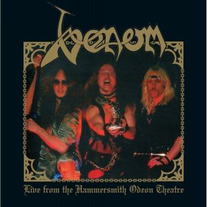 VENOM - Live from the Hammersmith Odeon Theatre LP UUSI LTD 200 BLACK
