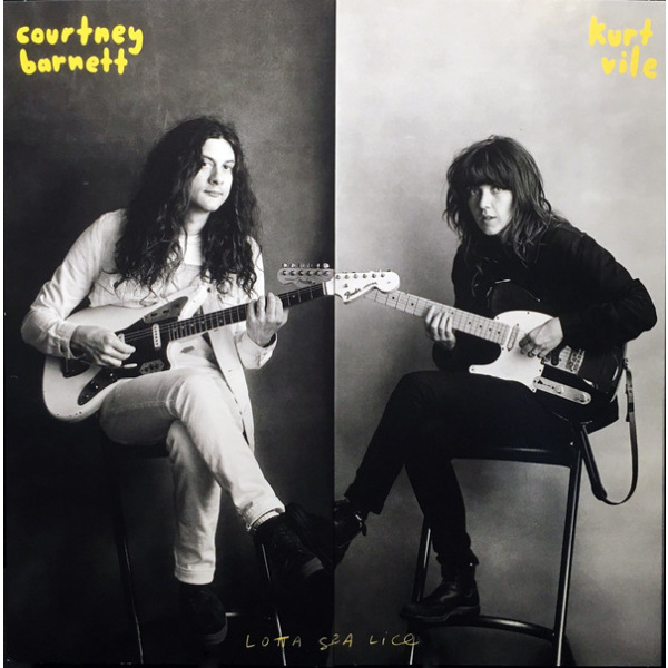 Courtney Barnett And Kurt Vile - Lotta Sea Lice LP UUSI Matador
