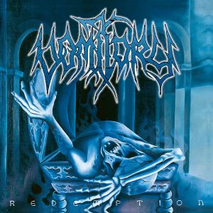VOMITORY - Redemption LP LTD 300 OPAQUE TURQUOISE/BLACK vinyl