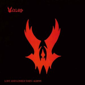 "WARLORD - Lost and Lonely Days/Aliens 12"" EP UUSI LTD 125 copies RED"