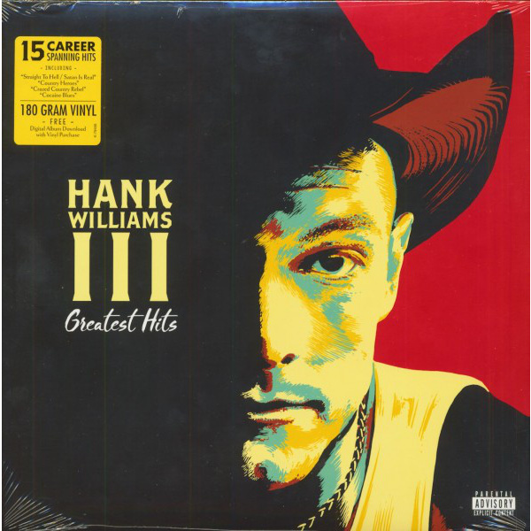 WILLIAMS HANK III - Greatest Hits LP
