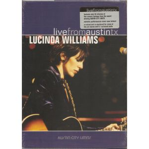 WILLIAMS LUCINDA - Live from Austin Texas DVD 1989
