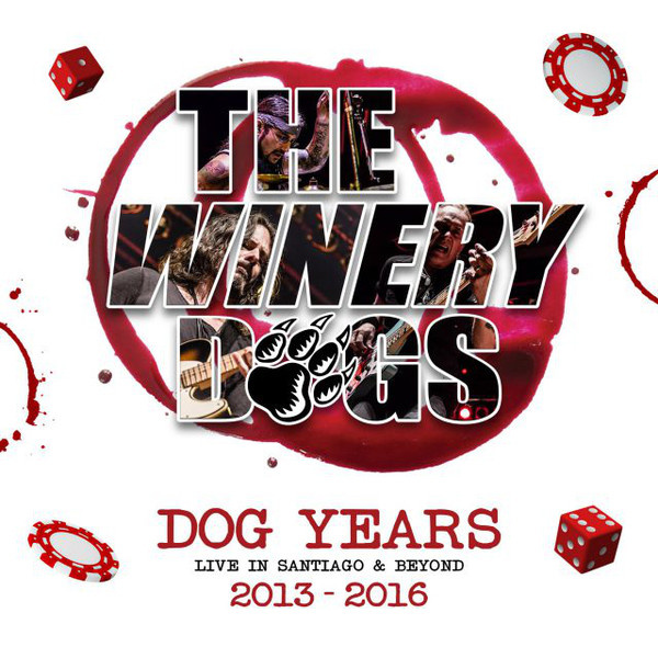 WINERY DOGS - Dog Years - Live in Santiago & Beyond 2013-2016 3LP