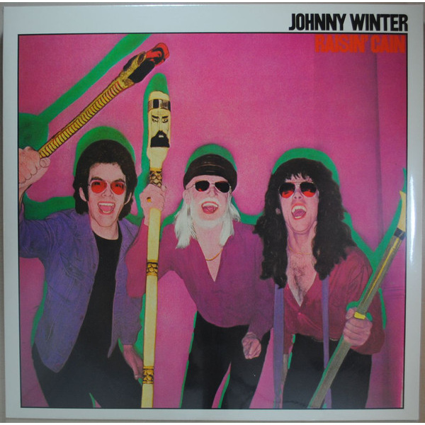 WINTER JOHNNY - Raisin cain LP Spv UUSI M/M