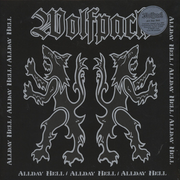 WOLFPACK - Allday Hell LP UUSI Southern Lord