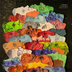 CLAXICO & IRON AND WINE - Years to Burn LP