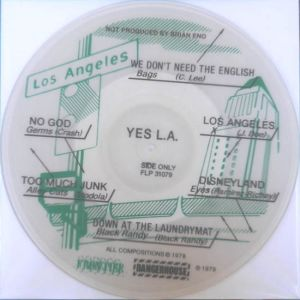 V/A - Yes L.A. PICTURE-LP Frontier UUSI