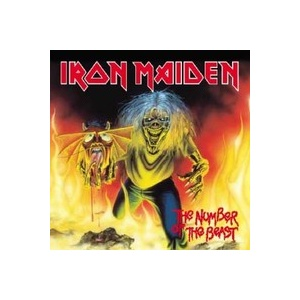 "IRON MAIDEN - Number of the Beast 7"" Parlophone"